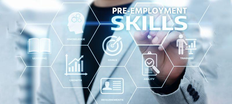 Pre employment skills testing